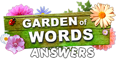 Garden of Words answers